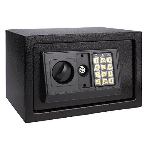 From 45.99 Ancheer Electronic Digital Safe Box Hidden Wall/floor Anchoring Design Home Office Safe Box Double Deadbolt Lockblack Shipping From De (an-sb003)