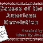 This unit can be used in a notebook, or a lapbook! The causes that are included in this unit are: French and Indian War Sugar Act Stamp Act Townshend Acts Boston Massacre Boston Tea Party: Tea Act, Sons of Liberty Intolerable Acts & First Continental Congress