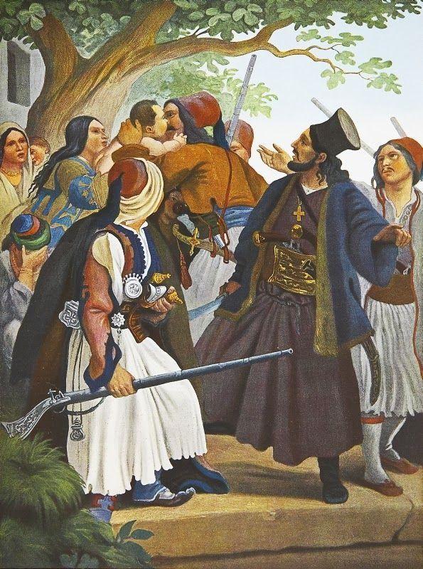Ο Αθανάσης Διάκος οδηγεί τους Δερβενοχωρίτες στον Αγώνα