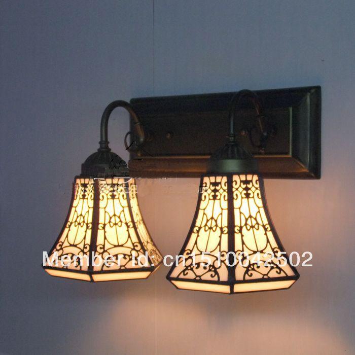 Современный Дом Освещение Тиффани Стекло Бра Ванная Комната Европейский Стиль Современные Итальянские Светильники Спальня Коридор Современный Дом Освещение