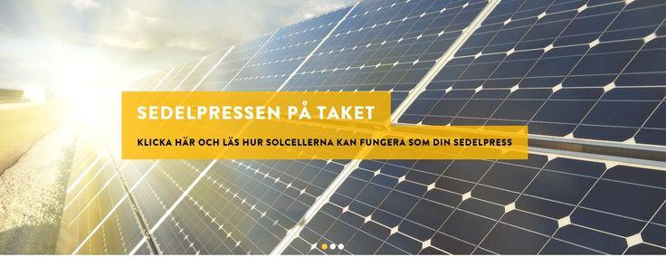 Jag köpte paneler och växelriktare från Gothia Solenergi i Mölndal.