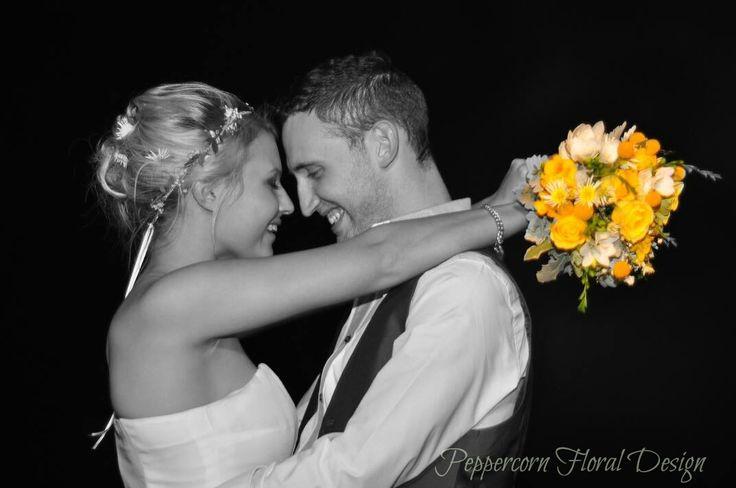 #fresh #hair #flowers #pretty #floral #crown #yellow #wedding by #peppercornfloraldesign.com.au