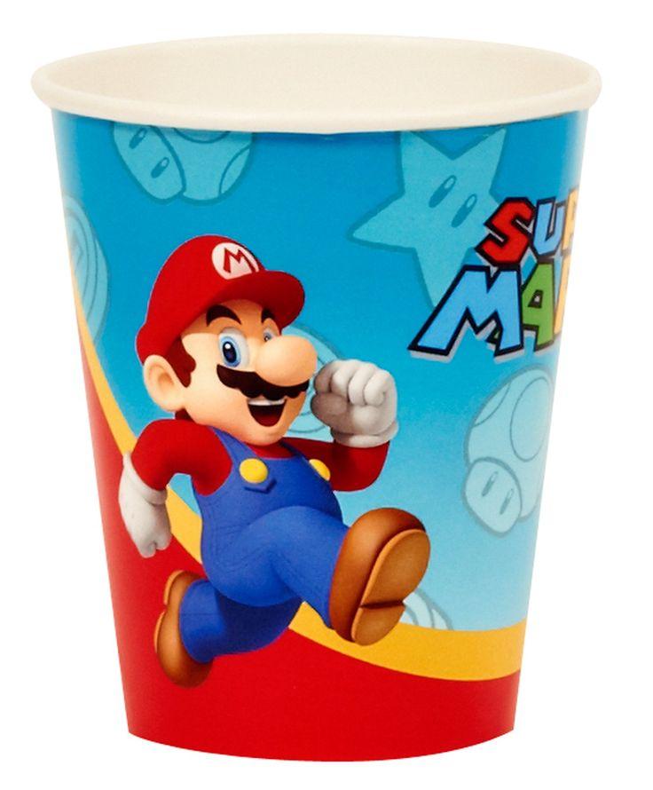 Super Mario Party 9 oz. Paper Cups, 92411