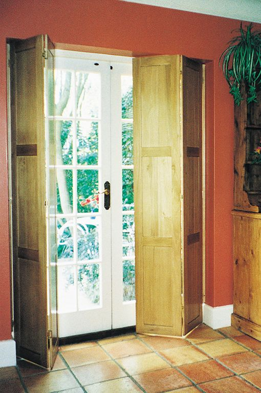 22 best solid panels shutters images on pinterest indoor - Unfinished wood shutters interior ...