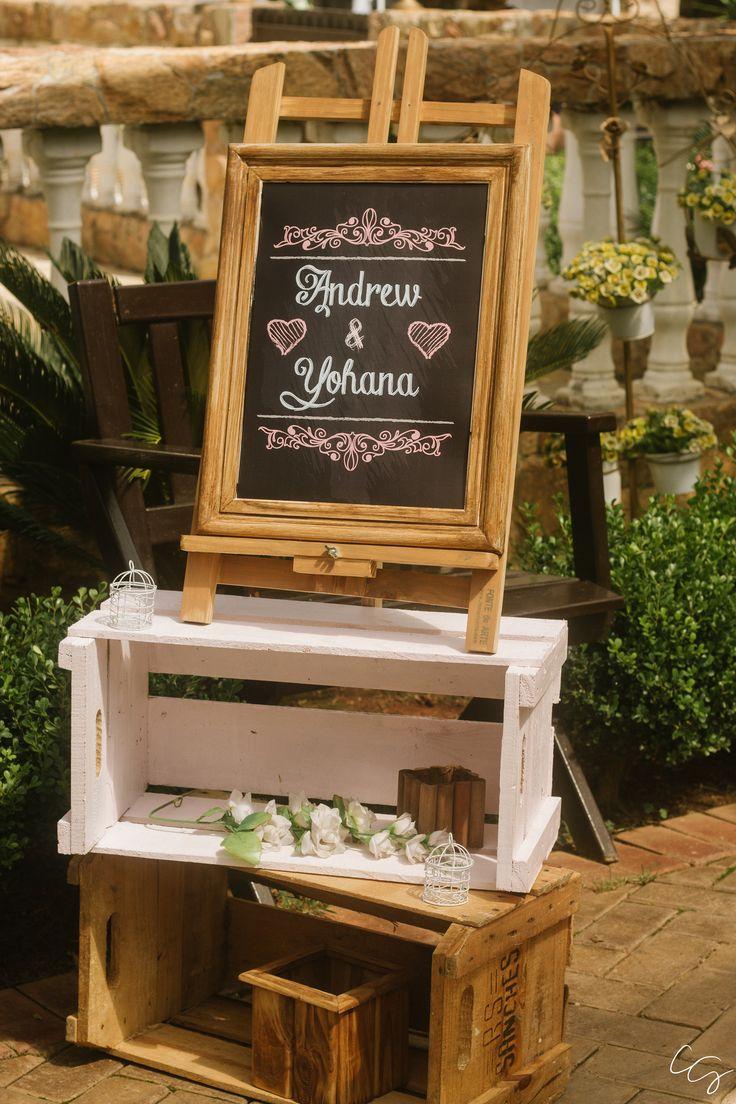 Decoração de casamento rústico | Recanto Beija-flor Eventos