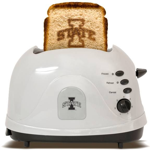 Iowa State University Cyclones - brand your bread with this toaster :)