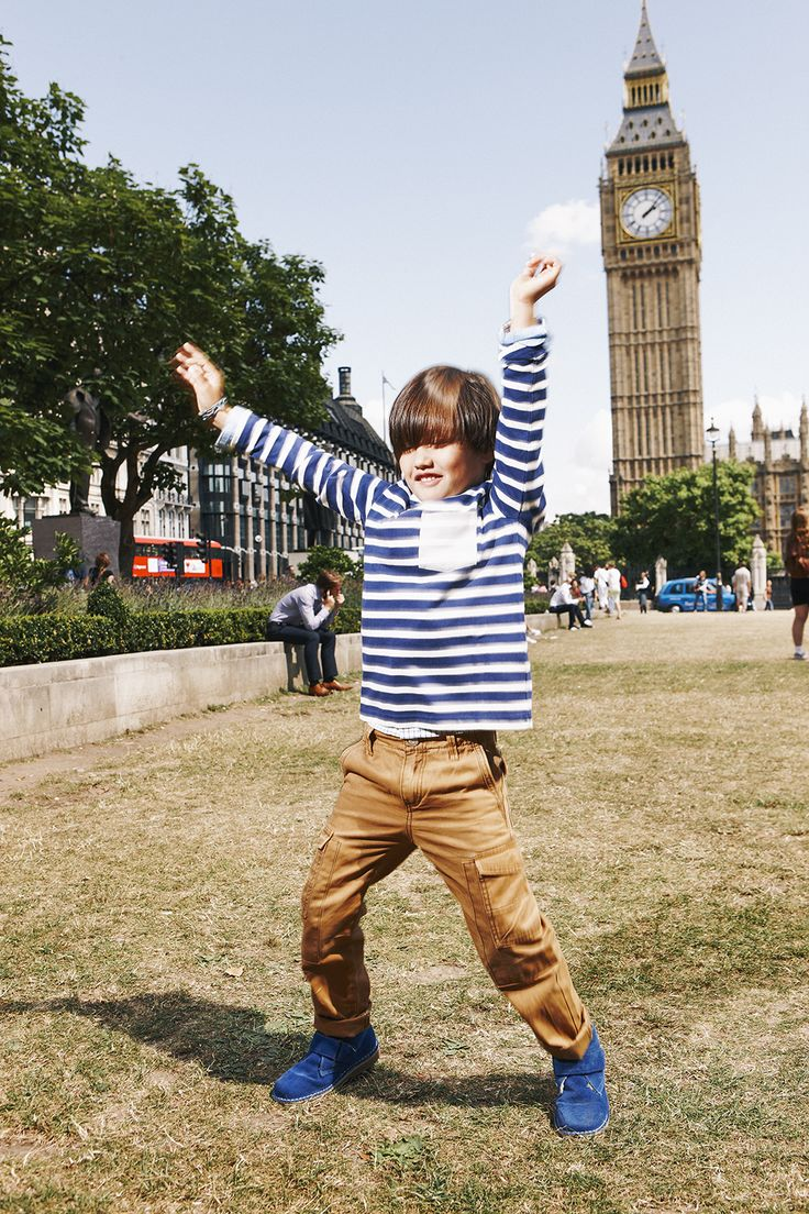 Taro shows off his star jumps in the Mariner t-shirt! Shop now with 15% off and free delivery with code PIN1 (UK) or PIN2 (US) #Boden #AW14