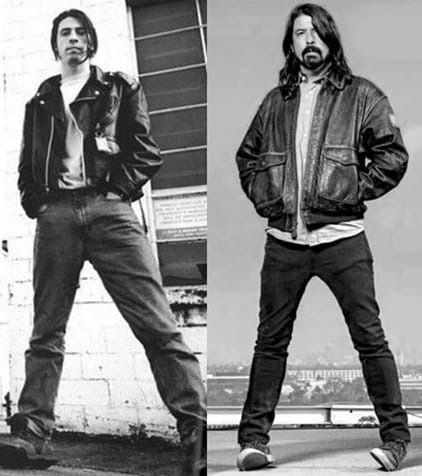 Dave Grohl Louise Post Pin by Nicolene...