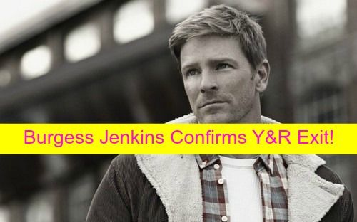"""The Young and the Restless"" (Y&R) spoilers are in with Burgess Jenkins confirming to Soap Opera Digest that he is OUT as Billy Abbott"