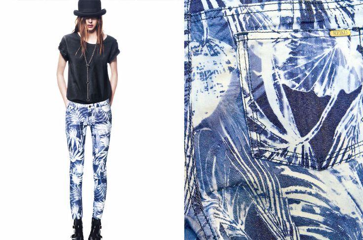 Nouvelle collection REIKO   Skinny KINTA : http://store.reikojeans.com/fr/nos-modeles/463-skinny-palmiers.html