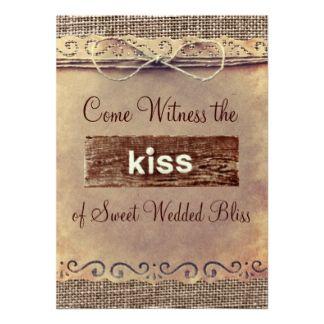 Country Wedding Invitations | Wedding Sayings Invitations, 220 Wedding Sayings Announcements ...