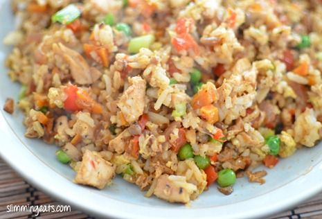 Chicken Fried Rice | Slimming Eats - Slimming World Recipes