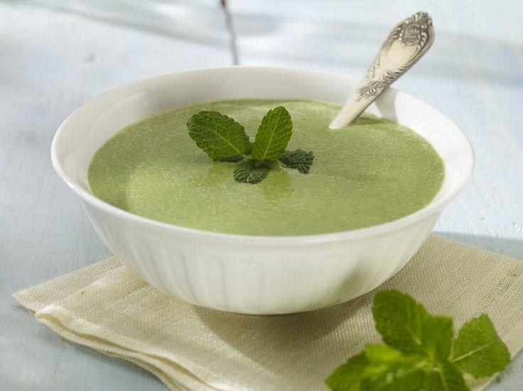 Przepis na Delikatna zupa krem z zielonych szparagów