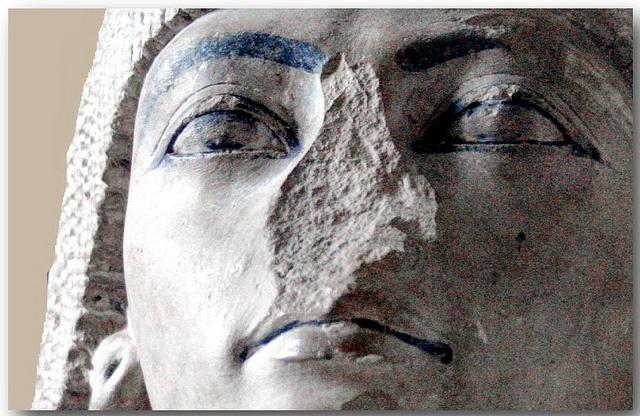 statue of Nakhtmin late 18 dyn. Egypt museum Cairo