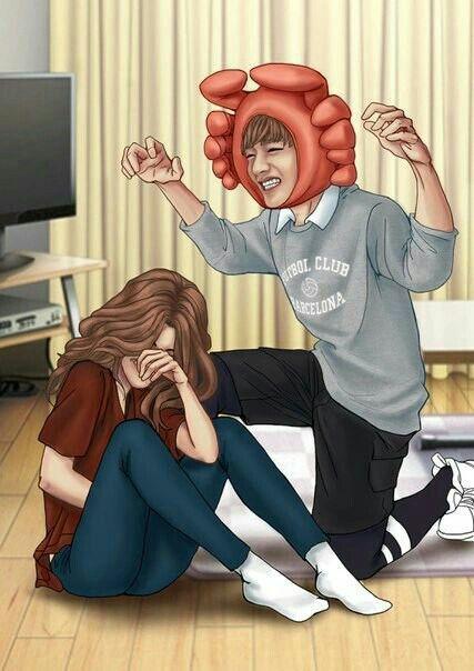 Bts v dating a fangirl