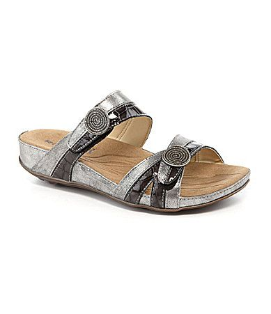Romika Fidschi 22 Slide Sandals #Dillards