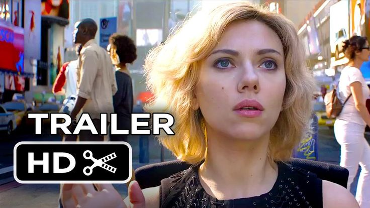 Scarlett Johansson learns she has superpowers in the new 'Lucy' Trailer.