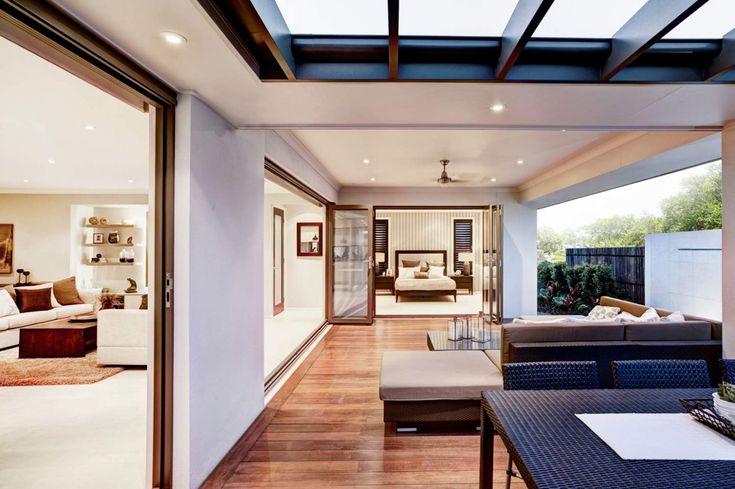 This looks like true Queensland living! Love this beautiful alfresco area.