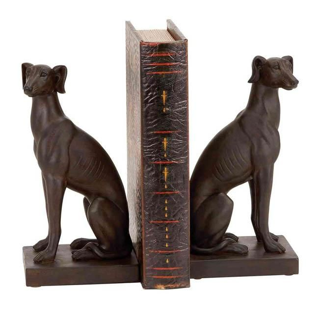 Polystone Dog Bookends - Decor - Buy online at OLVIK Home and Garden Shop - USA Online Shopping Store