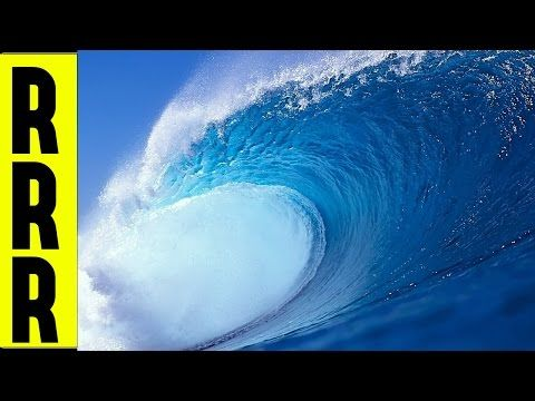 "BLUE SEA OCEAN VIDEO of WAVE SOUNDS from OCEAN WAVES = OCEAN SOUNDS ""BY THE SEA"" SURF 
