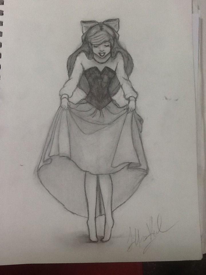 Cute ariel drawing | Drawings | Pinterest