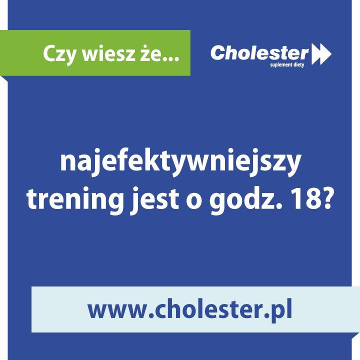 A Ty, o której najchętniej trenujesz?  #cholester #trening #fitness #zdrowie