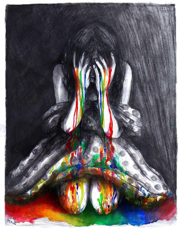 133 Artistes expriment leur Dépression (4)