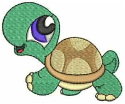 Clearance for Little Turtle embroidery design