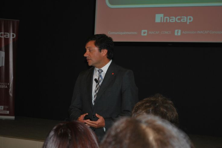 Andrés López, Vicerrector INACAP Concepción-Talcahuano