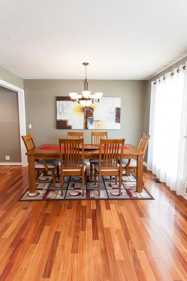 Oklahoma City & Edmond Flooring: Removed the carpet and installed Brazilian  teak hardwood. - 9 Best Floors: Tile, Wood, Carpet Images On Pinterest