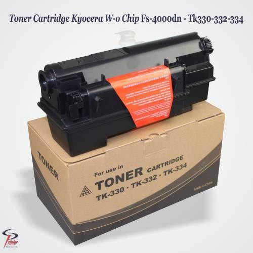 Toner Cartridge Kyocera W-o Chip Fs-4000dn - Tk330-332-334