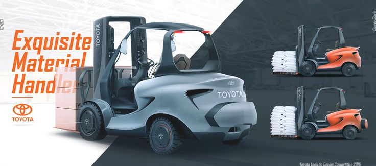 Toyota Concept Forklift Competition Material Handling