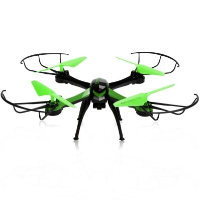 2.4GHz 4CH 6-Axis Gyro RC Aircraft Quadcopter Drone with 0.3MP Camera