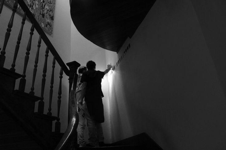 Inauguración Pilar Solar/ La 77 Curaduría Karen Huber Artistas. Alina Sánchez, Cecilia Barreto, Georgina Sanginés  Registro por Gamaliel Morales