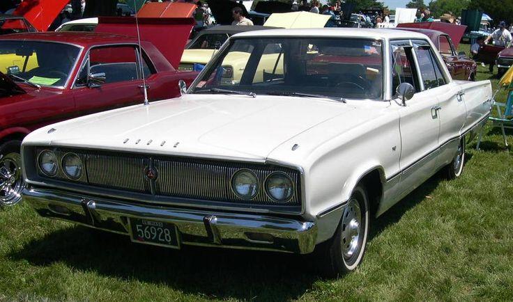 1967 Dodge Coronet four-door sedan