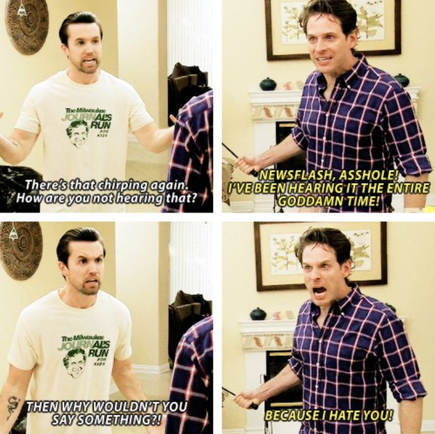 "When Dennis was gaslighting to a really fucked-up level. | 25 Times ""It's Always Sunny In Philadelphia"" Was So Fucked Up"