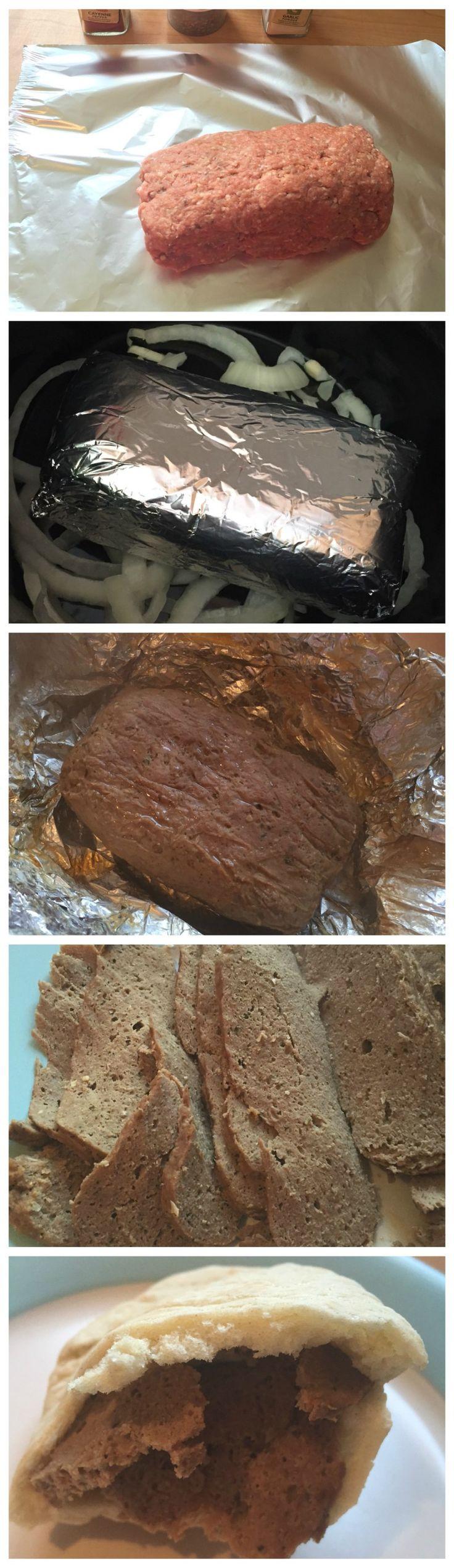 Homemade Doner Kebab (Slow Cooker) (Slimming World) (Fakeaway)�