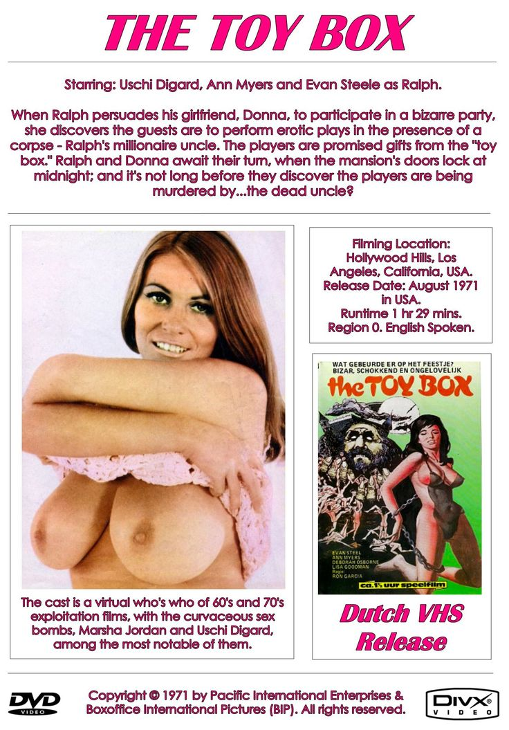 THE TOY BOX REGION-FREE DVD-R w/ USCHI DIGARD