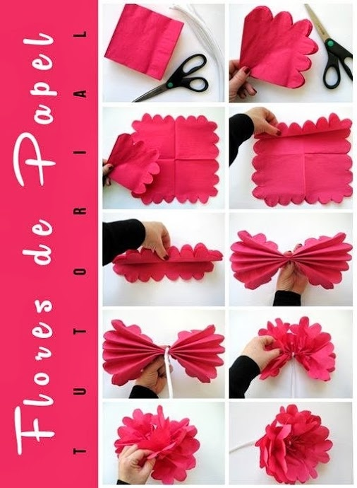 20 best images about manualidades papel on pinterest - Manualidades para decoracion ...