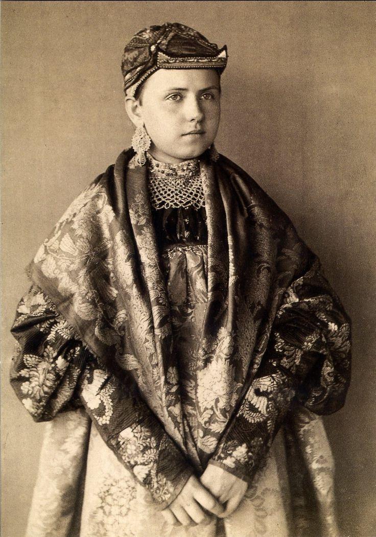 Север России кон.19.в.-нач. 20 в.-коллекция Н.Шабельской