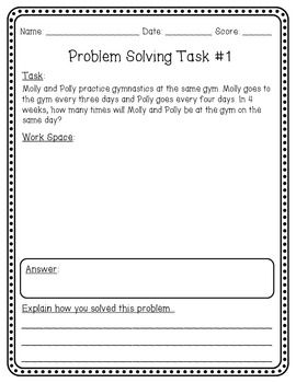 math problem solving activities for fourth grade a. Black Bedroom Furniture Sets. Home Design Ideas