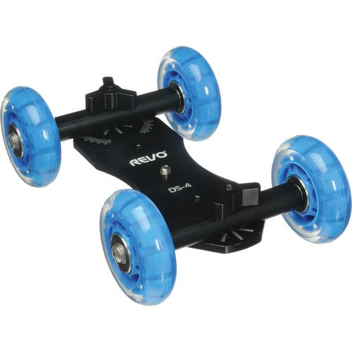 Revo Quad Skate Tabletop Dolly with Scale Marks DS-4 B&H Photo FREE shipping to Canada