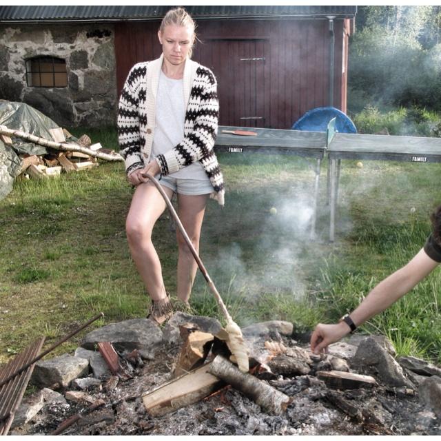 Swedish days.