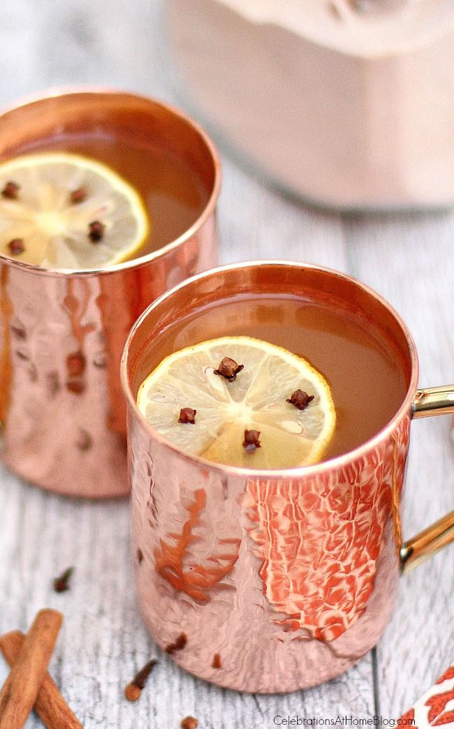 Oldie, but a goodie...Make this hot Russian tea mix and you'll be ready at a moments notice for a warming treat. Give the mix as a gift too!