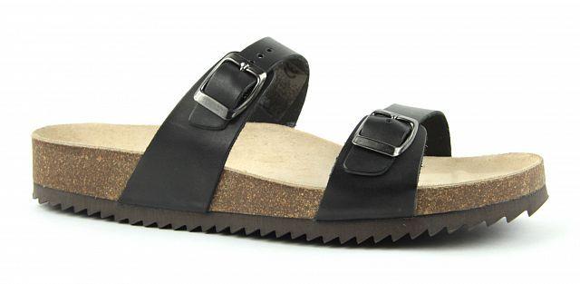 e8619ddd464 Zdravotní obuv Jasný pantofle 2002 M1 černé 2594