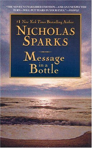 What is it about Nicholas Sparks' books that makes you cry for so long?