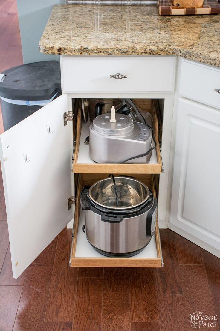 best 25 slide out shelves ideas on pinterest cabinet slides bathroom vanity storage and. Black Bedroom Furniture Sets. Home Design Ideas