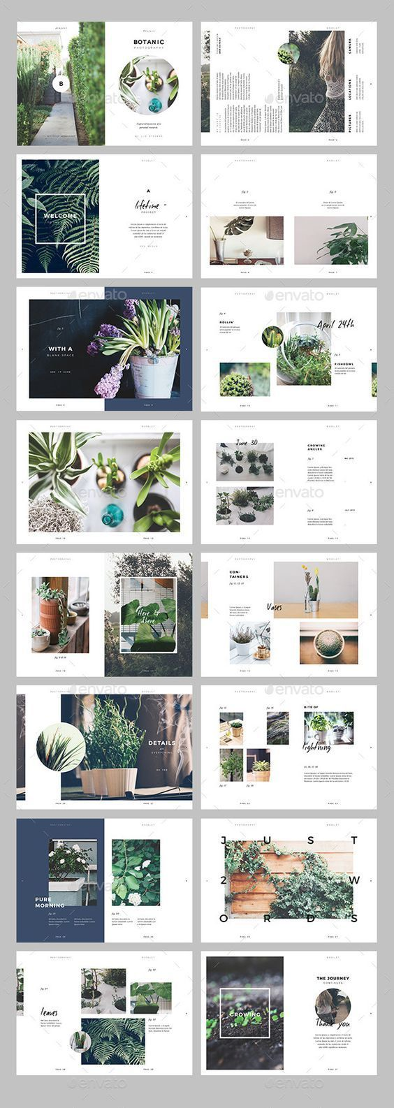 cool Botanic / Multipurpose Creative Portfolio Preview