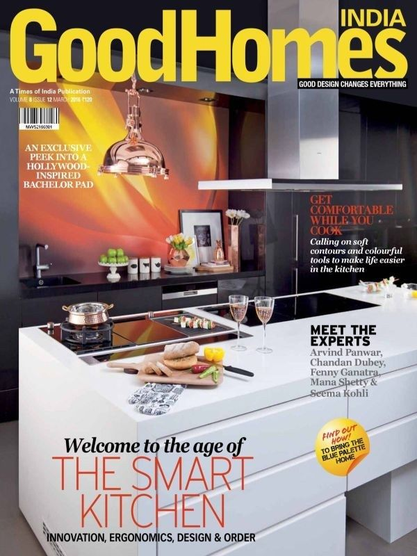 Good Homes March 2016 Issue- The Smart Kitchen  #GoodHomes #SmartKitchens #ebuildin