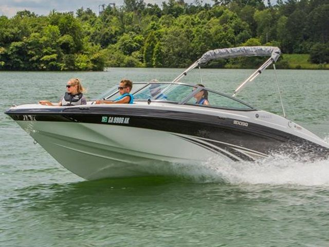 2015 Yamaha Boats 19 FT SX190 for sale at Stokley's Marine
